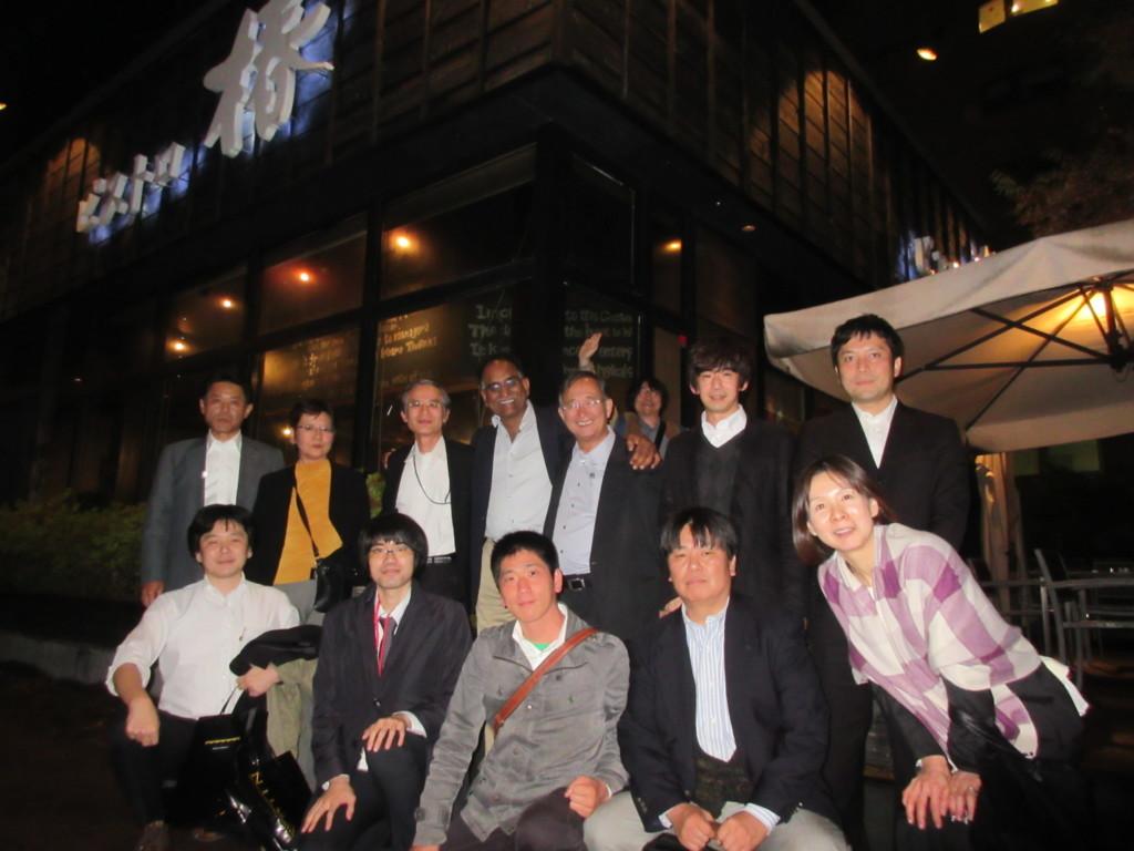 SEST2015@新潟にて。Murali Krishna先生を囲む会