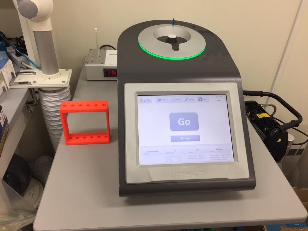 卓上NMR装置(NMReady 60Pro)